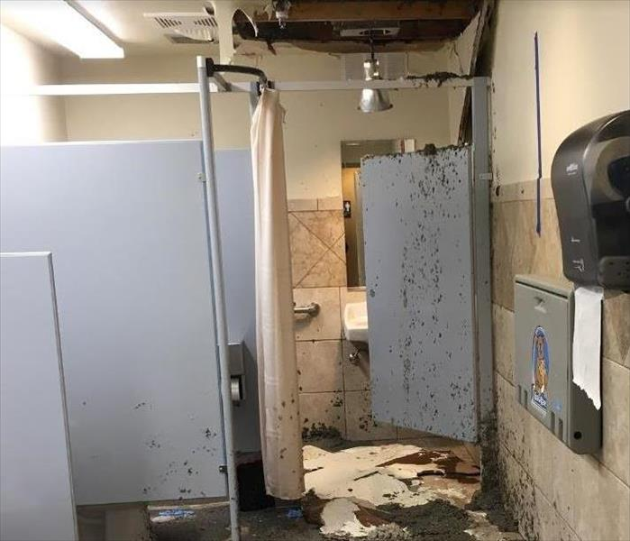 Flooded Restroom, CO