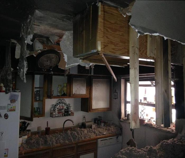 Kitchen fire in Aurora, CO