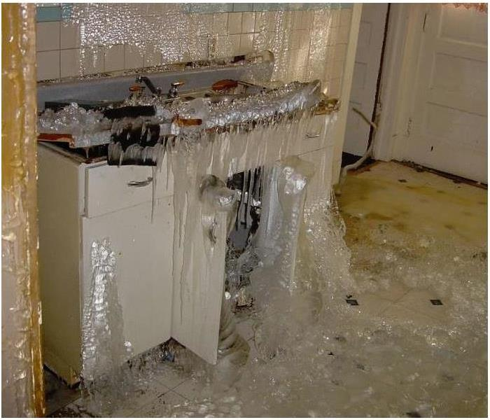 Water Damage Dropping Temperatures & Freezing Pipes