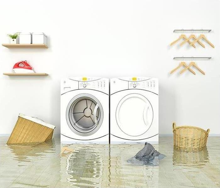 Is Your Washing Machine Leaking Servpro Of Aurora